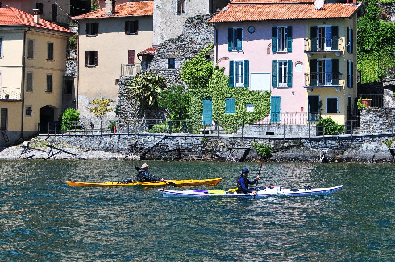 Canoe Lago di Como