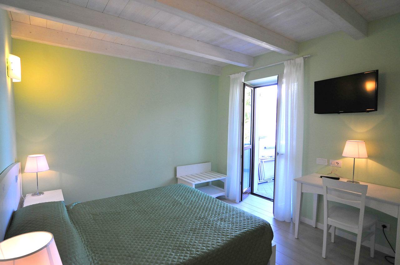 comfort kamer met uitzicht op het Comomeer