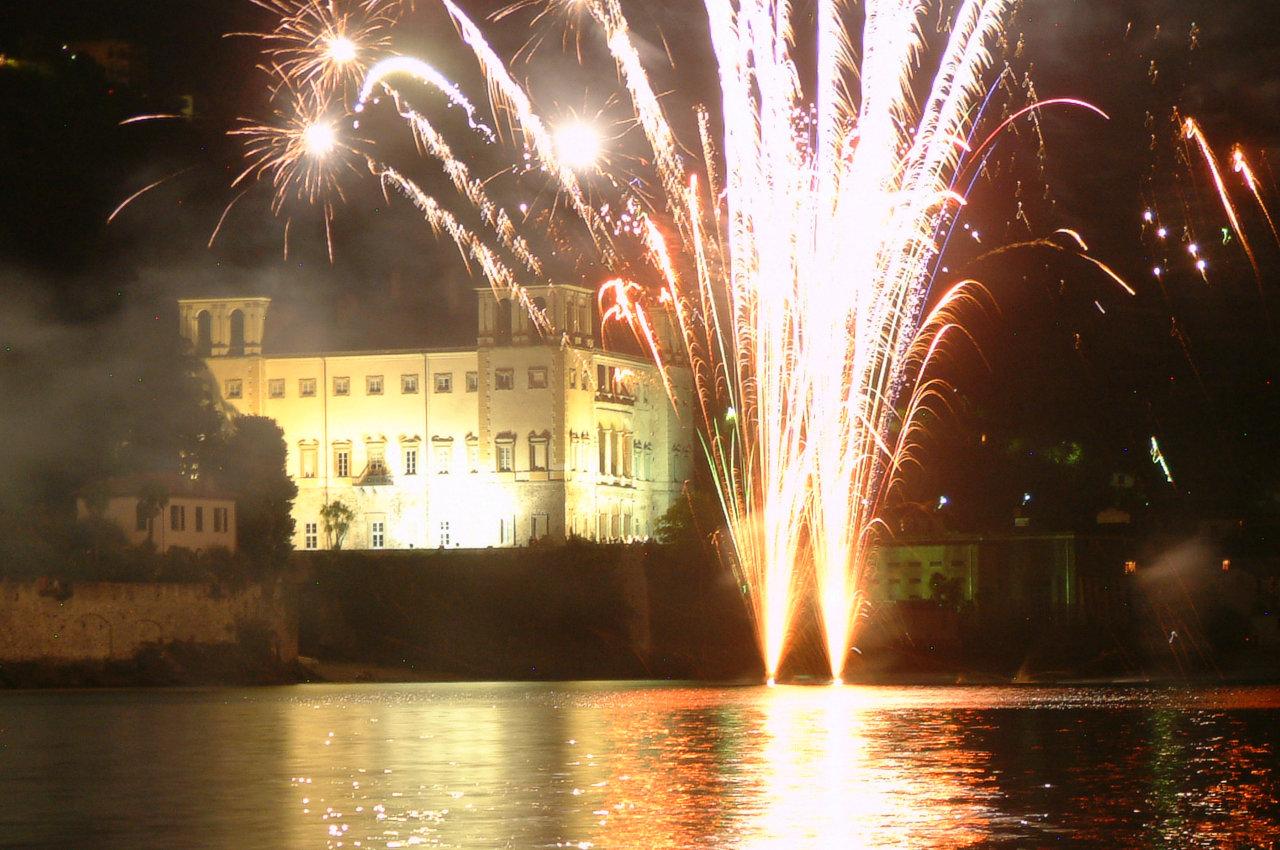 Fireworks Lake Como