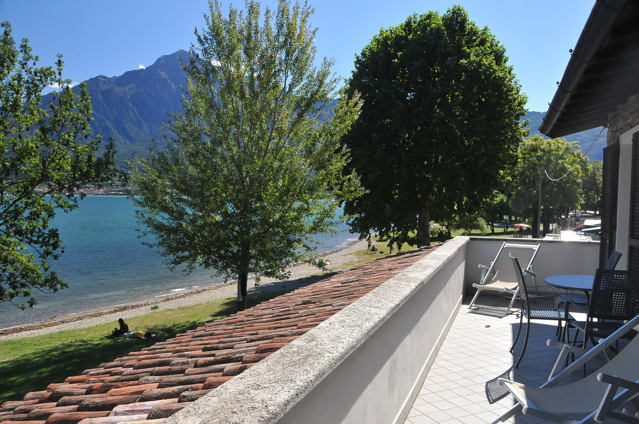 junior suite balcony lake view lake Como